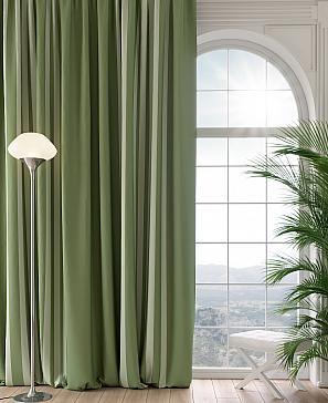 Портьера ТомДом Бордонс (зеленый) фото
