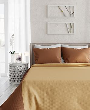 Фото - Фонти (коричнево-золотой) покрывало томдом фонти розово пудровый