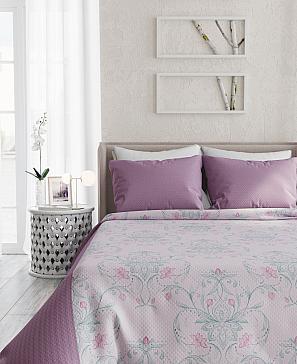 Фото - Инцас (розово-фиолетовый) покрывало томдом фонти розово пудровый