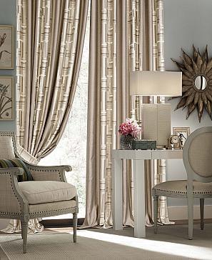Геомри (светло-серый) комплект штор томдом шелби серый