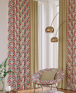 Марлон (красный) комплект штор томдом натеро красный