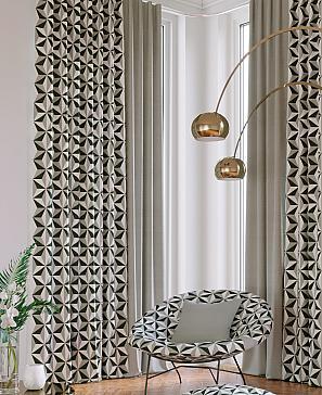 Лидрос (серый) комплект штор томдом шелби серый