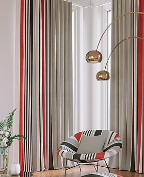 Валиос (красный) комплект штор томдом натеро красный