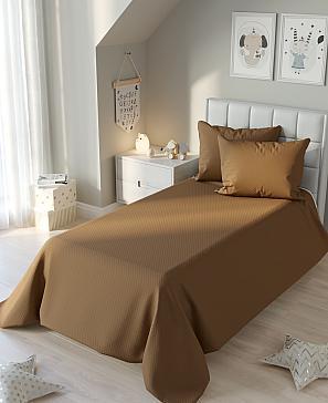 Покрывало ТомДом Лейтис (коричневый) покрывало двуспальное amore mio 200 220 см коричневый