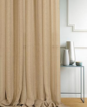 Тюль ТомДом Лактил (светло-коричневый)