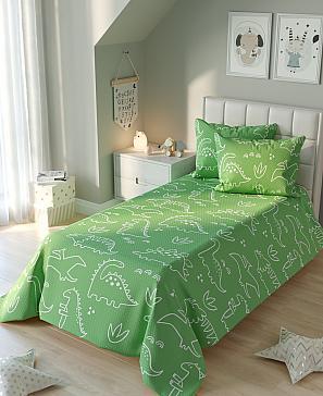 Динокси (зеленый) покрывало томдом берни зеленый