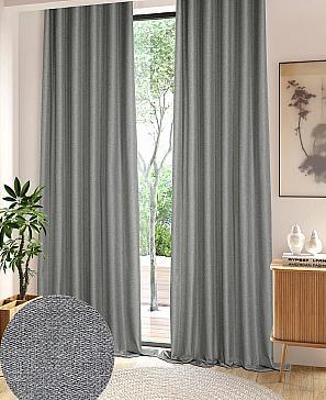 Ризови (серый) комплект штор томдом шелби серый