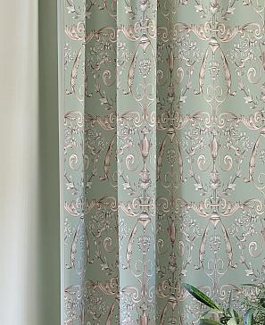 Комплект штор ТомДом Честин (зеленый) фото