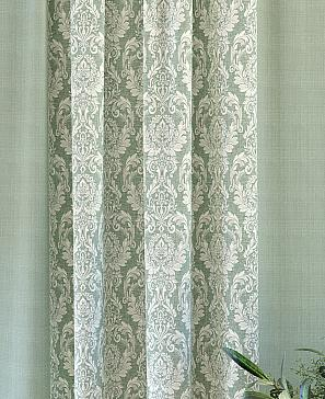 Комплект штор ТомДом Оркин (зеленый) фото