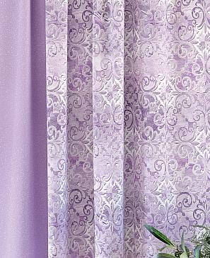 Комплект штор ТомДом Кастер (сиреневый) фото