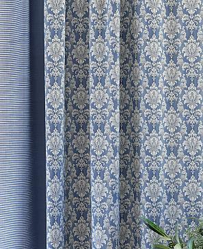Комплект штор ТомДом Эгберт (синий) фото