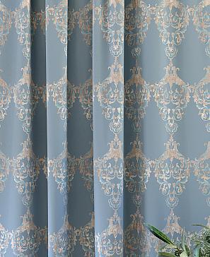 Комплект штор ТомДом Этельн (голубой) фото