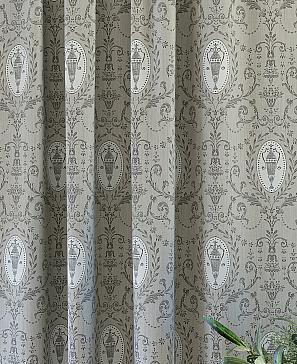 Комплект штор ТомДом Роксис (серый) фото