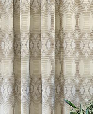 Комплект штор ТомДом Горнис (бежевый) фото