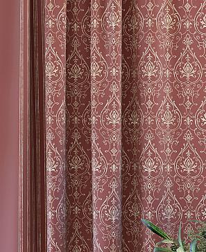 Комплект штор ТомДом Султан (паприка) фото