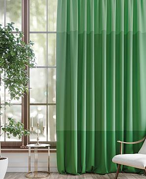 Портьера ТомДом Лимрин (зеленый)