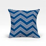 цена Декоративная подушка ТомДом Лате-О (синий) онлайн в 2017 году