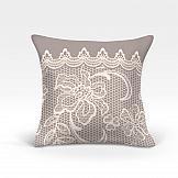 Декоративная подушка ТомДом Вольтер-О (серый) декоративная подушка томдом делли о серый