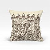 Декоративная подушка ТомДом Вольтер-О (беж.) декоративная подушка томдом подушка хиос беж