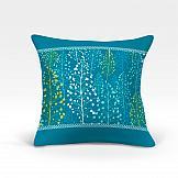 Декоративная подушка ТомДом Альпина-О (синий) цена
