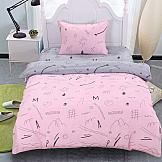 Постельное белье ТомДом Рейна (розовый)