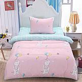 Постельное белье ТомДом Бруном (розовый) постельное белье arya кпб arya majestik бамбук barton 1 5 спальный розовый