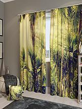 Комплект фотоштор ТомДом Бамбуковый лес