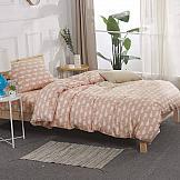 Постельное белье ТомДом Моби Дик (розовый) постельное белье arya кпб arya majestik бамбук barton 1 5 спальный розовый