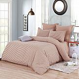 Постельное белье ТомДом Наридми (бежево-розовый) постельное белье gelin home с покрывалом esma грязно розовый евро стандарт