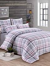 Постельное белье ТомДом Абердин (серо-розовый) постельное белье gelin home с покрывалом esma грязно розовый евро стандарт