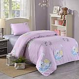 Постельное белье ТомДом Котофей (розовый) постельное белье arya кпб arya majestik бамбук barton 1 5 спальный розовый