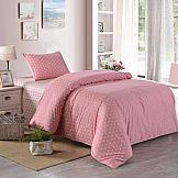 Постельное белье ТомДом Монклер (розовый) постельное белье arya кпб arya majestik бамбук barton 1 5 спальный розовый