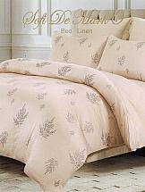 Постельное белье ТомДом Сербулия постельное белье arya кпб arya majestik бамбук barton 1 5 спальный розовый