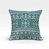 Декоративная подушка ТомДом Айола-О (голубой)
