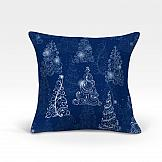 цена Декоративная подушка ТомДом Кана-О (синий) онлайн в 2017 году