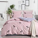Постельное белье ТомДом Санрайз (розовый) постельное белье gelin home с покрывалом esma грязно розовый евро стандарт