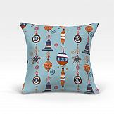Декоративная подушка ТомДом Лакона-О (голубой) цена