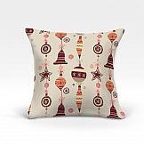 Декоративная подушка ТомДом Лакона-О (беж.) декоративная подушка томдом подушка хиос беж