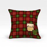 Декоративная подушка ТомДом Литерн-О (красный)