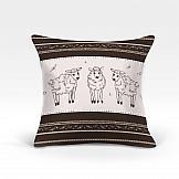Декоративная подушка ТомДом Корти-О (коричн.) декоративная подушка томдом вис о