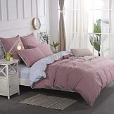 Постельное белье ТомДом Нитрон (розовый) постельное белье gelin home с покрывалом esma грязно розовый евро стандарт