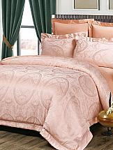 Постельное белье ТомДом Лукреция (розовый) постельное белье gelin home с покрывалом esma грязно розовый евро стандарт