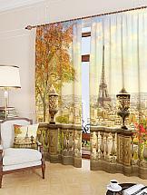 Комплект фотоштор ТомДом Вид с балкона