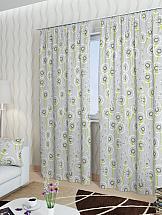 Комплект штор ТомДом Делли-К (серый) декоративная подушка томдом делли о серый