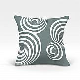 цена на Декоративная подушка ТомДом Джери-О (серый)