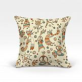 Декоративная подушка ТомДом Шанки-О (беж.) декоративная подушка томдом подушка хиос беж