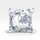 цена Декоративная подушка ТомДом Мелета-О (синий) онлайн в 2017 году