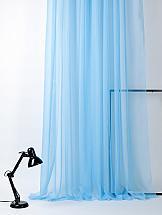 Тюль ТомДом Берис (голубой)