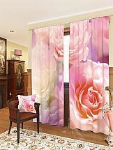 Фото - Комплект фотоштор ТомДом Розовые розы