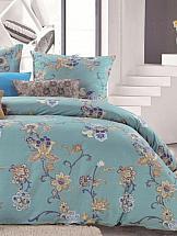 Постельное белье ТомДом Живония постельное белье хлопковый рай дэзи комплект евро сатин